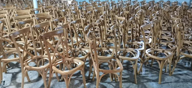 crossback dining chair