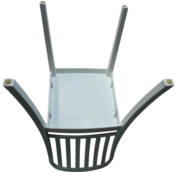 plastic dining chairs with arms