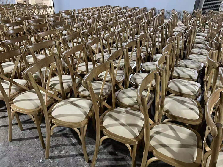 wooden crossback dining chair manufacturer