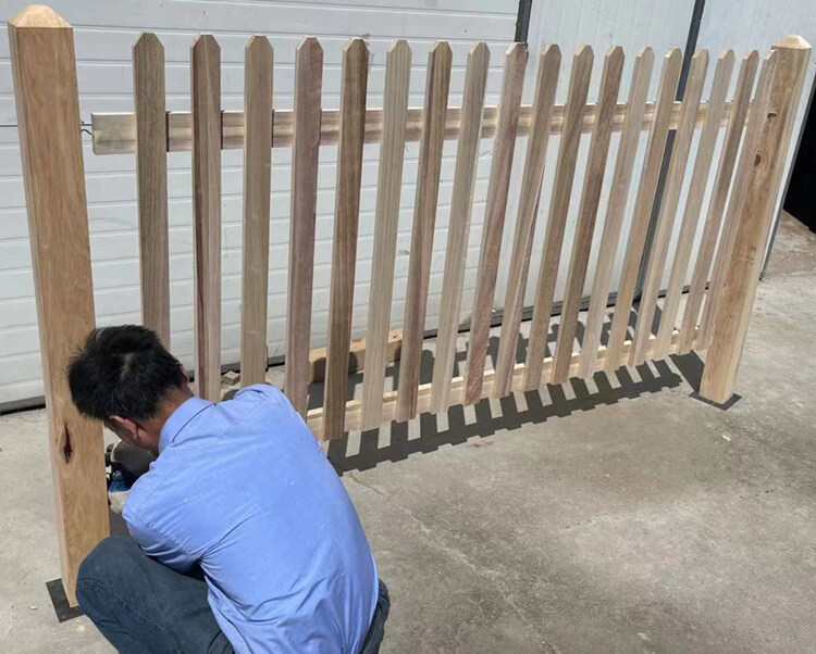 wooden fence factory