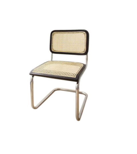 Stainless Steel Cane Dining Chair