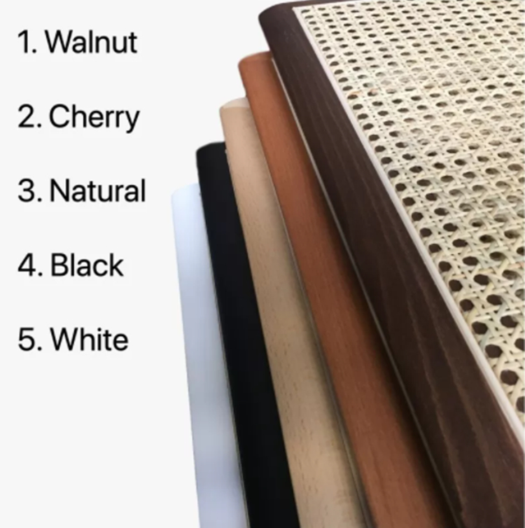 rattan dining chair color