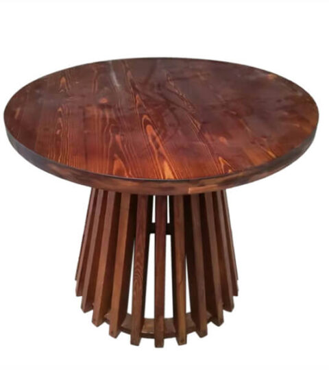 Wooden Round High Table Manufacturer